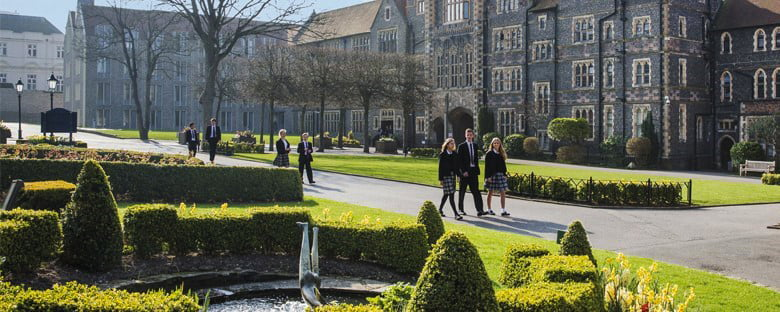 A photograph of Brighton College in the UK - the context and inspiration for the new school in Dubai